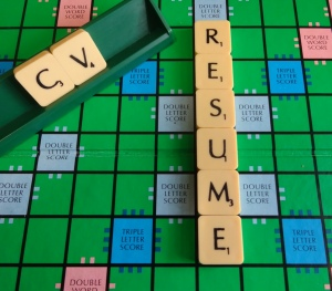 Resume Pic Scrabble