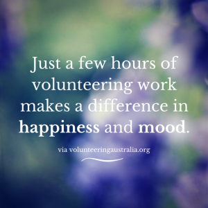 Volunteer Happiness