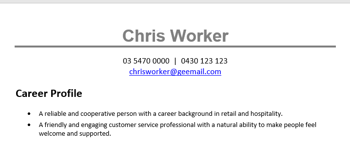 resume-sample